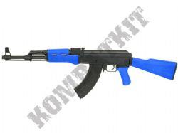 Cyma CM522 Sportline AK47A Electric AEG Airsoft BB Machine Gun 2 Tone Alloy Gear Box